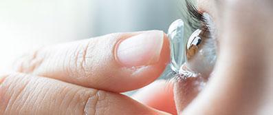 Formstabile / harte Kontaktlinsen