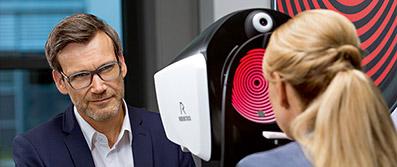 DNEye-Scanner der Firma Rodenstock